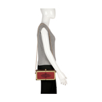 GELDA 03 WOMEN S HANDBAG SADDLE,  marsala