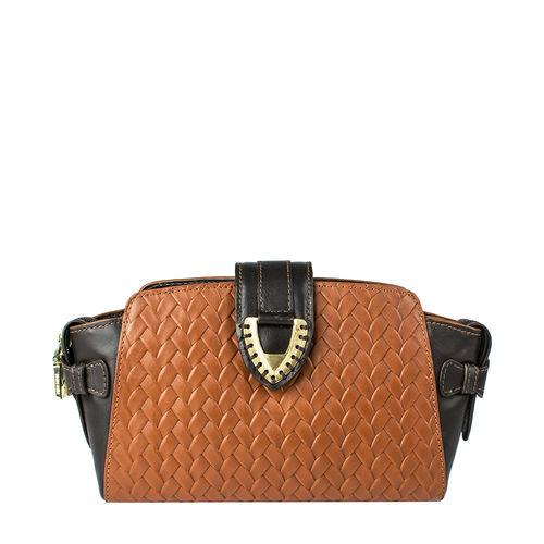 Ee Liya 03 Handbag, woven,  tan