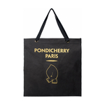 Grand Tote Shopper Tote, Canvas,  black