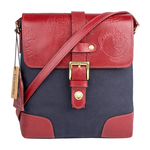 Lumiere 01 Women s Crossbody Canvas,  navy blue