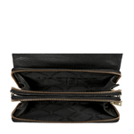 COQUETTE 01 SLING BAG CROCO,  black