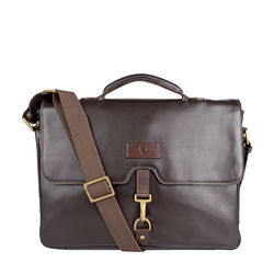 Jaguar 02 Men's Briefcase Soho,  brown
