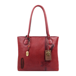 SADHAVI 01 WOMENS HANDBAG COW BOY,  marsala