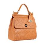 Sezanne Women s Handbag Ostrich,  tan