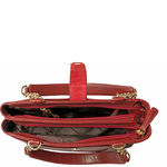 Azha 02 Handbag, ranchero,  red