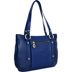Nakasu 02 Women s Handbag, Melbourne Croco,  blue