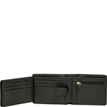 L105 Men s Wallet, Roma,  black