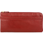 Mina W4(Rfid) Women s Wallet, Roma Melbourne,  red