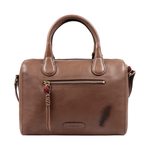 SADHAVI 03 WOMENS HANDBAG COW BOY,  brown