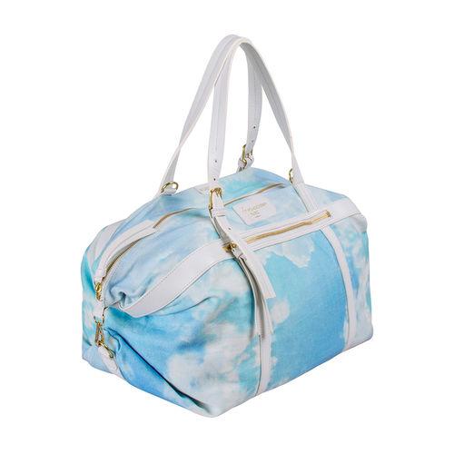 Transformer (C) Duffle Bag, Canvas,  white