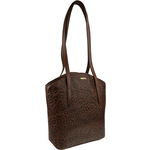 Bonn Women s Handbag, Embossed,  brown