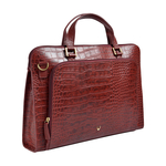 Biscotte 01 Women s Handbag, Croco Melbourne Ranch,  red
