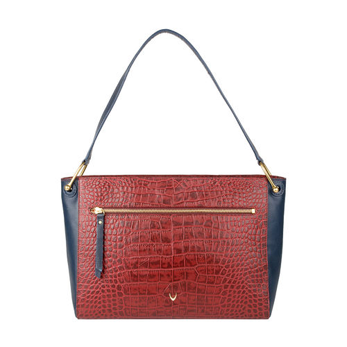 Jupiter 02 Sb Women s Handbag, Croco Melbourne Ranch,  red
