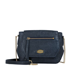Taurus 03 Women's Handbag Lizard,  midnight blue