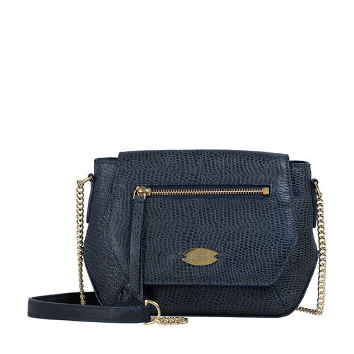 Taurus 03 Women s Handbag Lizard,  midnight blue