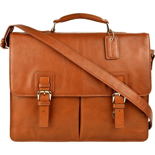 Gareth Hd 827 Briefcase,  tan, regular