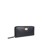 Claea W2 (Rfid) Women s Wallet, Cement croco,  black