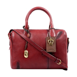 SADHAVI 03 WOMENS HANDBAG COW BOY,  marsala