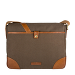 Cherokee 01 Men s Messenger Bag, Canvas E. I Goat,  desert palm