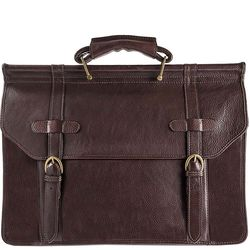 Roma Briefcase,  brown, soweto