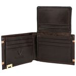 280-2021S Men s wallet,  brown, cow escada