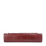 Biscotte 02 Women s Handbag, Croco Melbourne Ranch,  red