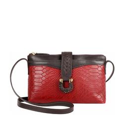 Ee Frieda W3 Women's Wallet Snake,  marsala