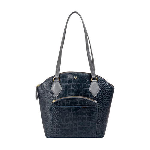 Kasai 02 Sb Women s Handbag, Croco,  midnight blue