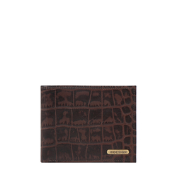 SIRIUS W1 SB (RFID) MEN'S WALLET CROCO,  brown