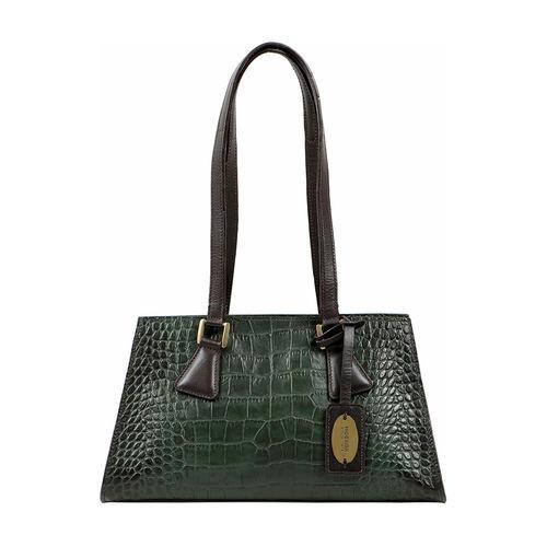 Spruce 03 Sb Women s Handbag Croco,  emerald green