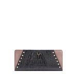 SPEAK EASY W1 (RFID) WOMEN S WALLET BABY CROCO,  black