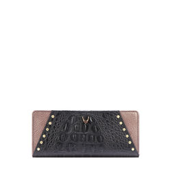 SPEAK EASY W1 (RFID) WOMEN'S WALLET BABY CROCO,  black