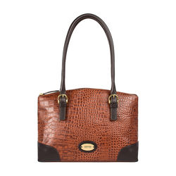 Saturn 01 Sb Women's Handbag Croco,  tan