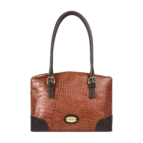 Saturn 01 Sb Women s Handbag Croco,  tan