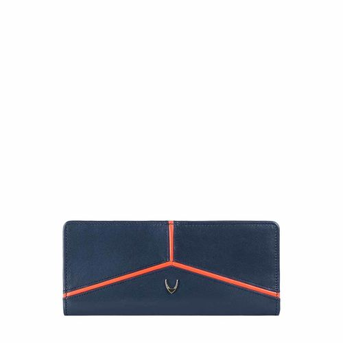 HIDESIGN X KALKI STAR W2(RFID) WOMEN S WALLET DENVER,  midnight blue