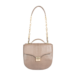 Sb Elsa Women's Handbag Snake,  metallic