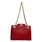 Sb Aliya 01 Women s Handbag, Snake,  red