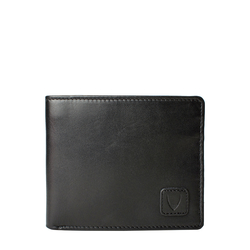 278-L107F (Rf) Men's wallet,  black