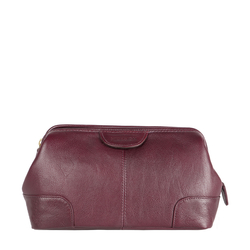 CAPRI WASH BAG REGULAR,  aubergine