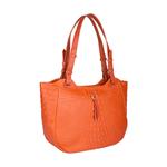 Fleur 01 Women s Handbag, Baby Croco Melbourne Ranch,  lobster