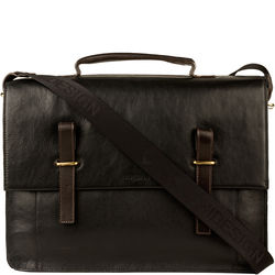 Campbell 03 Briefcase, regular,  black