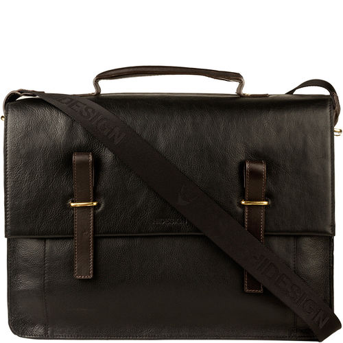 Campbell 03 Briefcase,  black, regular