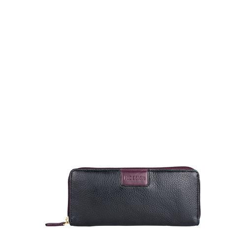 Meghan W3(Rfid) Women s Wallet, Cowdeer Melbourne Ranch,  black