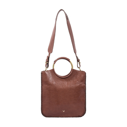 MIMOSA 01 WOMENS HANDBAG, EI GOAT,  brown