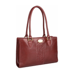 Treccia 01 Women s Handbag, Soho,  red