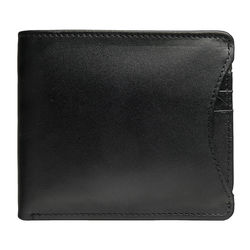21036 Men's wallet,  black, siberia
