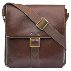 Vespucci 02 Crossbody,  brown, khyber