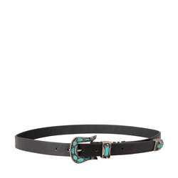 CARLIN WOMENS BELT RIO,  black, 36-38