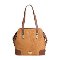 Harajuku 03 Handbag,  tan, baby croco