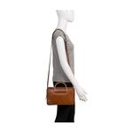 Mimosa 03 Women s Handbag EI Goat,  tan